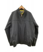 ()の古着「ショットダービージャケット」|ブラック×イエロー