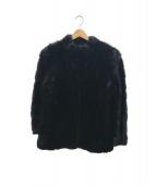 SAGA MINK(サガミンク)の古着「毛皮コート」 ブラック
