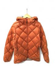 mont-bell(モンベル)の古着「ダウンジャケット」|オレンジ