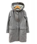 MACKINTOSH PHILOSOPHY(マッキントッシュフィロソフィー)の古着「ウールシングルコート」 ライトグレー