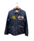AVIREX(アヴィレックス)の古着「ベトナムジャケット」|ネイビー