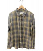 REMI RELIEF(レミレリーフ)の古着「長袖シャツ」 グレー