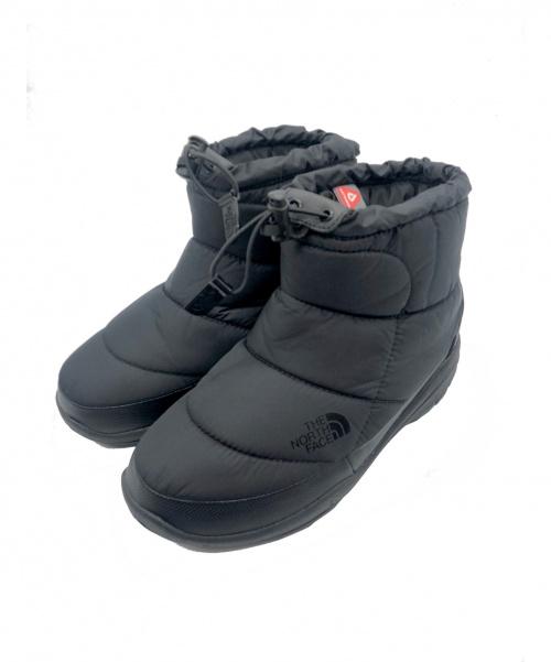 THE NORTH FACE(ザノースフェイス)THE NORTH FACE (ザノースフェイス) ショートブーツ ブラック サイズ:24.0cmの古着・服飾アイテム