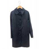 MACKINTOSH(マッキントッシュ)の古着「ゴム引きコート」 ブラック