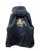 HUF(ハフ)の古着「ナイロンアノラックジャケット」 ブラック