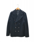BURBERRY BLACK LABEL(バーバリーブラックレーベル)の古着「ウールコート」 ブラック