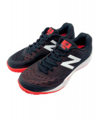 NEW BALANCE(ニューバランス)の古着「テニスシューズ」|ブラック×ピンク