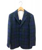 BEAMS PLUS(ビームスプラス)の古着「ウールジャケット」|ブルー×グリーン