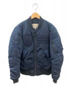 AVIREX(アヴィレックス)の古着「MA-1ジャケット」 ブルー