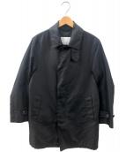 MACKINTOSH PHILOSOPHY(マッキントッシュフィロソフィー)の古着「コーデュラオックスシームシーリングステンカラーコート」 ブラック