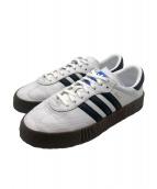 adidas originals(アディダスオリジナルス)の古着「厚底スニーカー」 ホワイト×ブラック