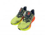 adidas(アディダス)の古着「ランニングシューズ」 ブラック×イエロー
