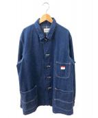CAL O LINE(キャルオーライン)の古着「デニムジャケット」|インディゴ