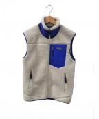 Patagonia(パタゴニア)の古着「レトロXジャケット」 ホワイト×ブルー