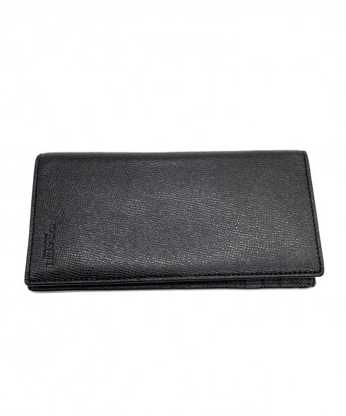 COACH(コーチ)COACH (コーチ) 長財布 ブラックの古着・服飾アイテム
