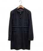 Comptoir des Cotonniers(コントワーデコトニエ)の古着「ウールコート」|ブラック