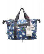LeSportsac(レスポートサック)の古着「2WAYバッグ」|ブルー