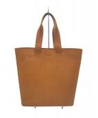 marimekko(マリメッコ)の古着「レザートートバッグ」|ナチュラル