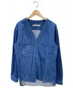 SHADES OF GREY BY MICAH COHEN(シェイズオブグレイ)の古着「デニムジャケット」|ブルー