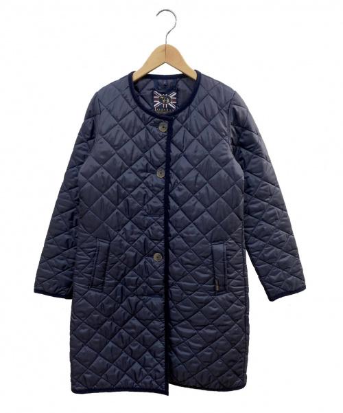 LAVENHAM(ラヴェンハム)LAVENHAM (ラヴェンハム) キルティングコート ネイビー サイズ:36の古着・服飾アイテム