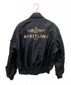 ALPHA(アルファ)の古着「MA-1ジャケット」|ブラック
