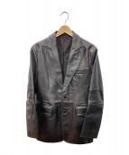 DKNY(ダナキャランニューヨーク)の古着「2Bカウレザージャケット」