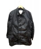 PEUTEREY(ビューテリー)の古着「ナイロンコート」|ブラック