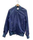 UNITED TOKYO(ユナイテッドトウキョウ)の古着「ジップブルゾン」|ブルー