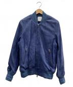 UNITED TOKYO(ユナイテッドトウキョウ)の古着「ジップブルゾン」 ブルー