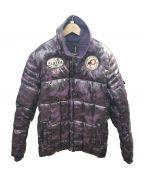 AVIREX()の古着「中綿ジャケット」|パープル