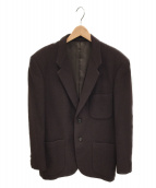 Y's for men(ワイズフォーメン)の古着「ウールテーラードジャケット」|ブラウン