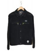 CRIMIE(クライミ)の古着「スウェードレザージャケット」|ブラック