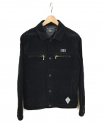 CRIMIE(クライミー)の古着「スウェードレザージャケット」 ブラック