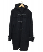 Hysteric Glamour(ヒステリックグラマ)の古着「ロングダッフルコート」|ブラック