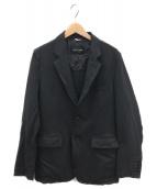 COMME des GARCONS HOMME DEUX(コムデギャルソン オム ドゥ)の古着「ダーツテーラードジャケット」|チャコールグレー