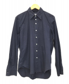 TAKAHIROMIYASHITA TheSoloIst.(タカヒロミヤシタザソロイスト)の古着「断ち切りシャツ」|ブラック