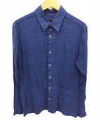 Frank Leder(フランクリーダ)の古着「リネンジャケット」|ブルー