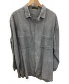 Y's(ワイズ)の古着「ジップアップジャケット」|グレー