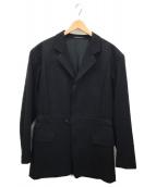 Yohji Yamamoto pour homme(ヨウジヤマモトプールオム)の古着「ハーフコート」|ブラック