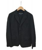 COMME des GARCONS HOMME(コムデギャルソンオム)の古着「テーラードジャケット」 ブラック