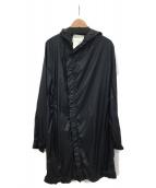 STEPHAN SCHNEIDER(ステファン・シュナイダ)の古着「ナイロンコート」|ブラック