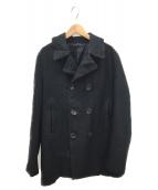 COMME des GARCONS(コムデギャルソン)の古着「ダブルコート」|ブラック