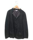 COMME des GARCONS SHIRT(コムデギャルソンシャツ)の古着「レザージャケット」|ブラック