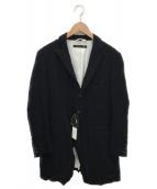 KLASICA(クラシカ)の古着「リネン混コート」|ブラック