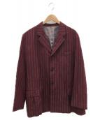 YS for men(ワイズフォーメン)の古着「3Bテーラードジャケット」|レッド