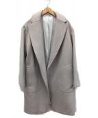 Whim Gazette(ウィムガゼット)の古着「シャルムビーバーコート」|ライトグレージュ