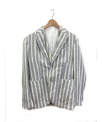L.B.M.1911(エルビーエム1911)の古着「2Pテーラードジャケット」|ホワイト×ネイビー