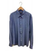Berluti(ベルルッティ)の古着「ボタンダウンシャツ」|ネイビー