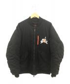 JORDAN(ジョーダン)の古着「WINGS MA-1 JACKET」|ブラック