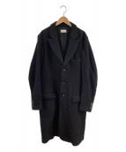 BED J.W. FORD(ベッドフォード)の古着「ロングコート」|ブラック